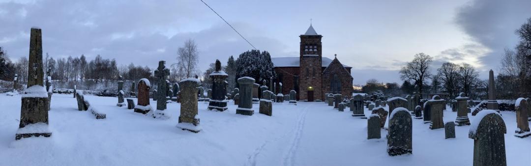 Balfron Church Winter 2021